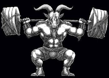 Satanic Powerlifting 2