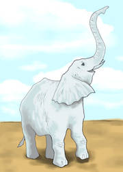 Elephant by Saevus