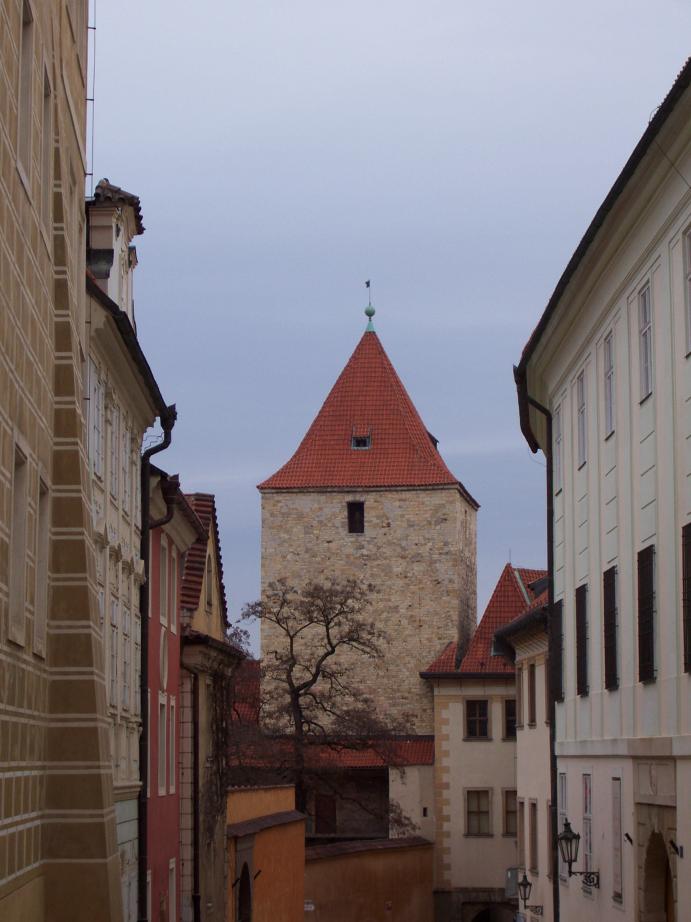 Prague - Golden Lane by Ammoniite