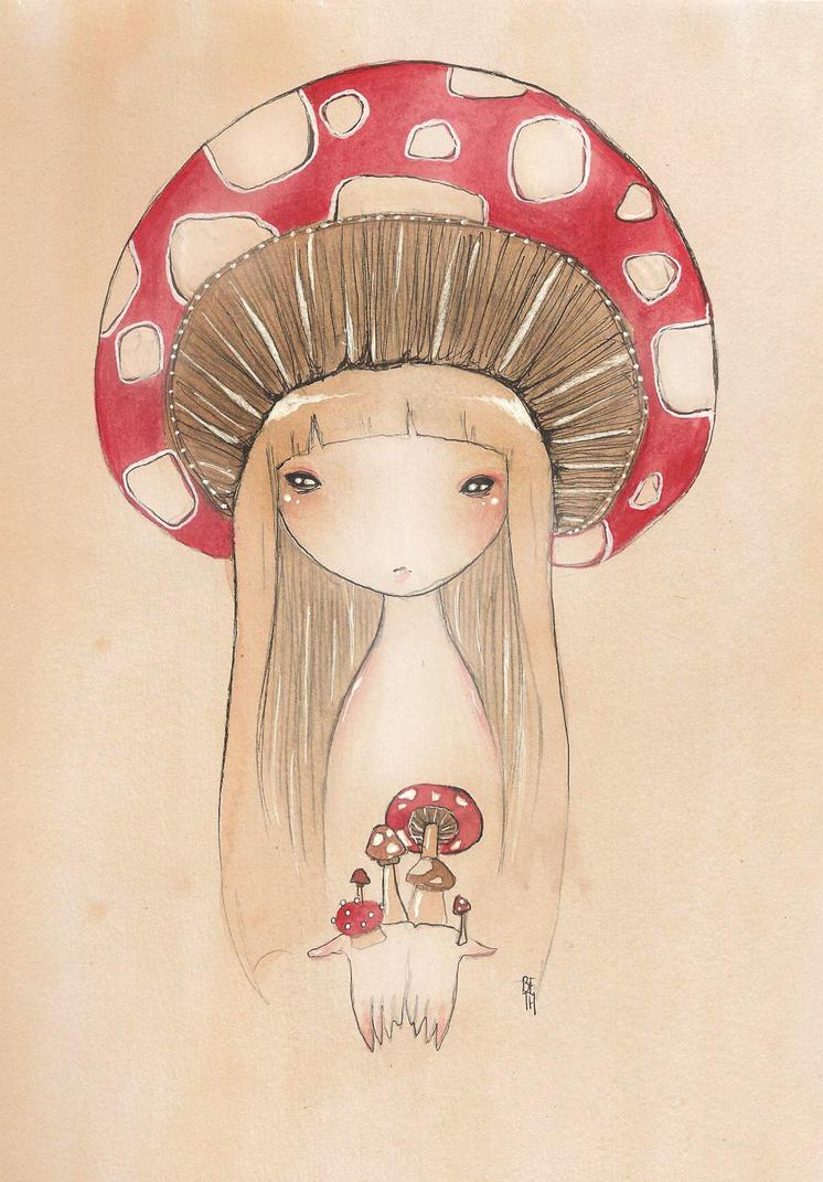 Mushroom by PalletsArt