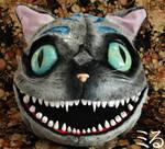 cheshire cat head by Miru-sama