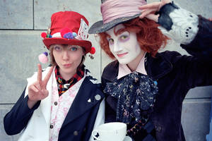 madhatter and madhatter by Miru-sama