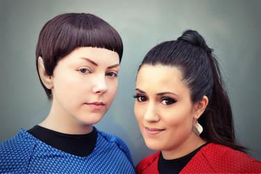 Spock and Uhura [Star Trek]