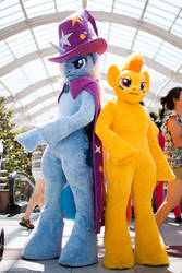Spitfire and Trixi [My little Pony] Costume