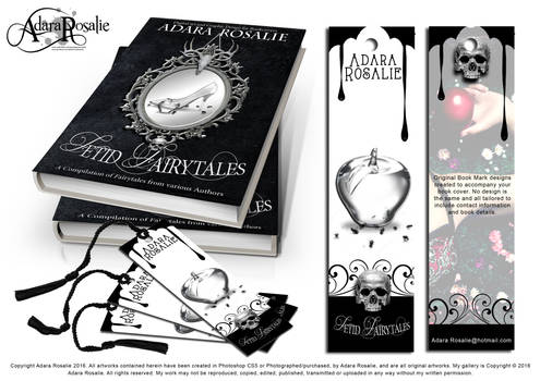 Fetid Fairytales Book cover and Book mark design