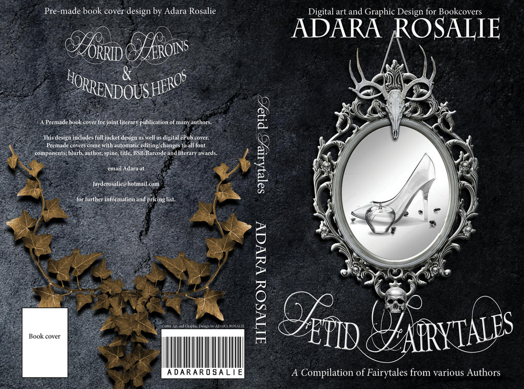 Fetid Fairytales book cover design by AdaraRosalie