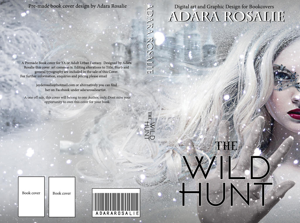 The Wild Hunt Cover Concept by AdaraRosalie