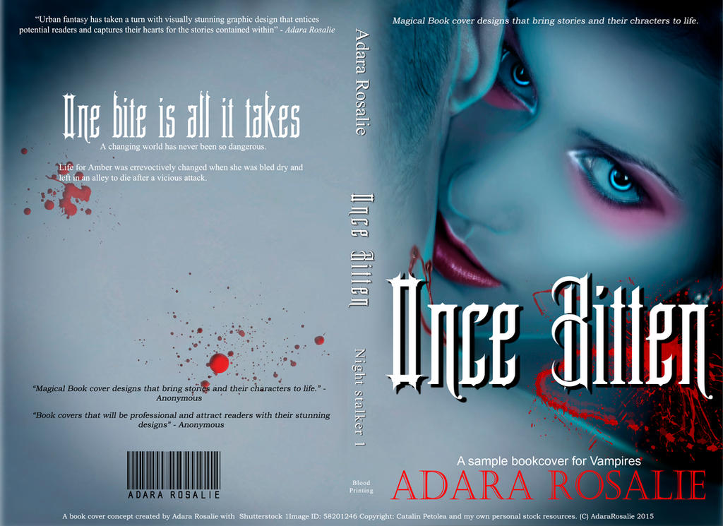 Once Bitten Cover by AdaraRosalie