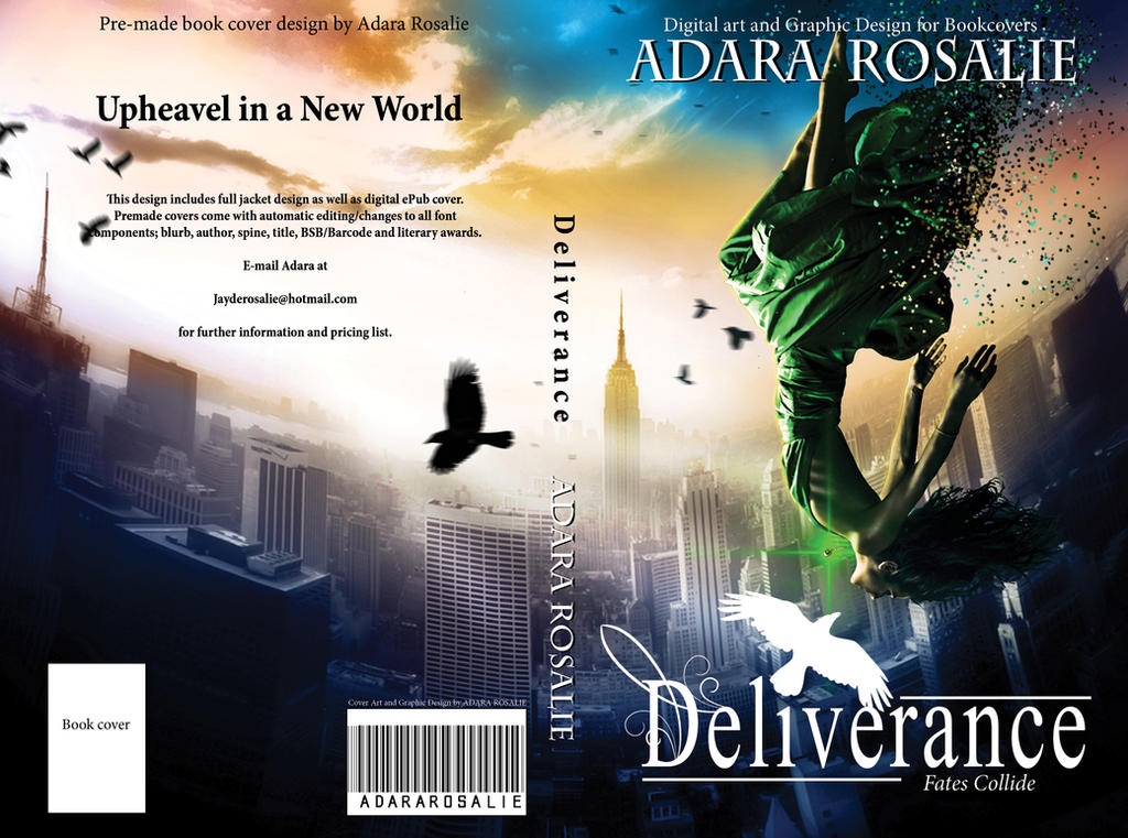 Deliverance Book Cover Design by AdaraRosalie