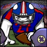 Football2 Badassbuddy.com Avie by cgianelloni