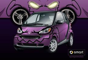 Demon Smart Car by cgianelloni