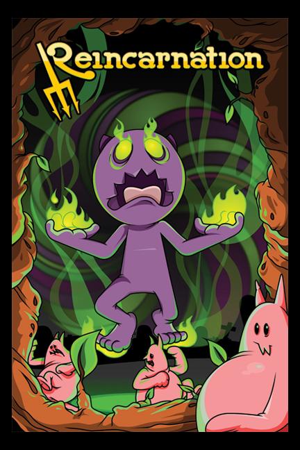 Reincarnation:  Demon Poster
