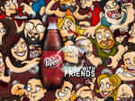 Dr. Pepper with Friends