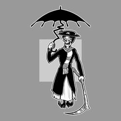 Grim Poppins by cgianelloni