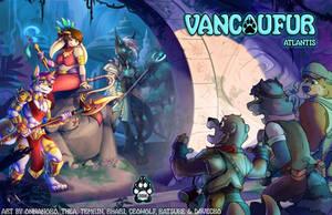 VancouFur 2016 - Conbook Cover by Vancoufur