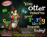 Party Block Applications Close Oct 31! Apply now!