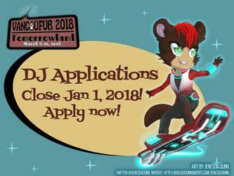 Vancoufur 2018 DJ Applications closing Jan 1! by Vancoufur