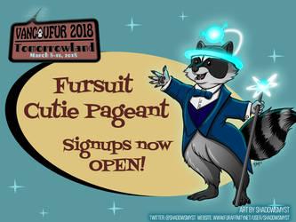 Fursuit Cutie Pageant signups now open! by Vancoufur