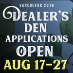 Dealers Den applications open Aug 17