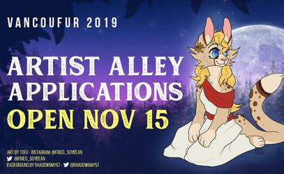 Artist Alley opens Nov 15