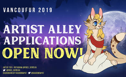 VF2019 Artist Alley Applications are open!