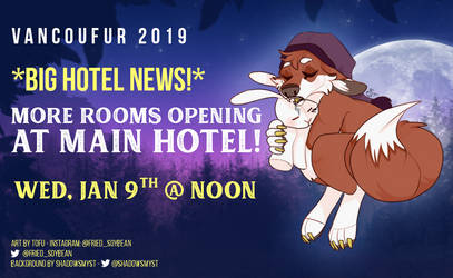 Main Hotel - More Rooms open Jan 9th 12pm PST
