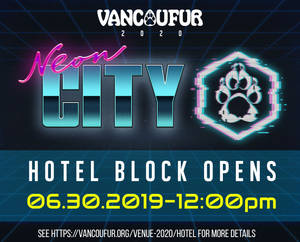 VancouFur 2020 room block opening soon!