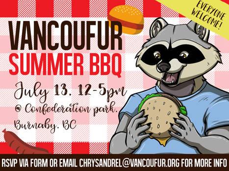 VancouFur summer BBQ - 2019/07/13!