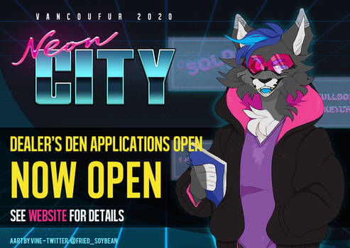 Dealer's den applications are now open!