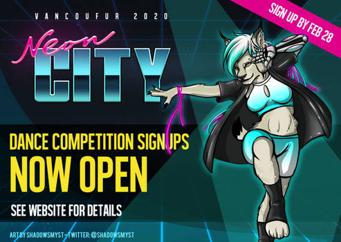 Dance competition signups now open!