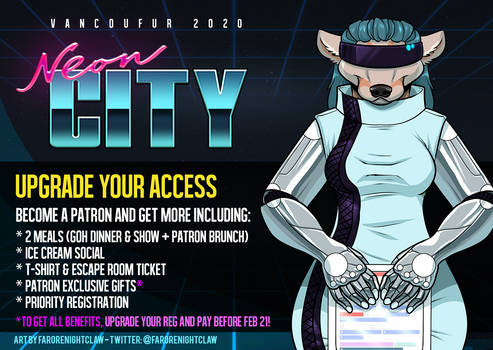 Last Chance to Prereg or Upgrade To Patron