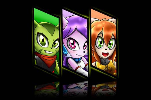 Team Lilac Freedom Planet 2
