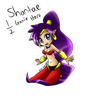 Shantae half genie hero fan art by KenjiKanzaki05