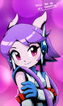 Sash Lilac Valentine's day