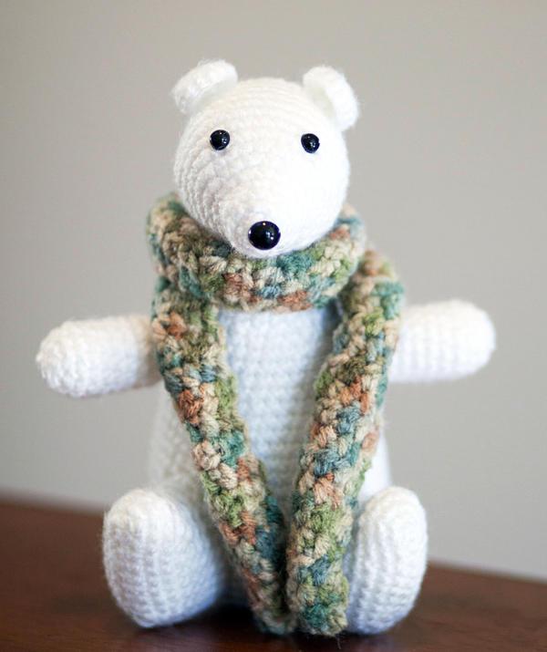 Free Amigurumi Crochet Patterns Fox : Polar Bear Amigurumi by Nicoule on deviantART