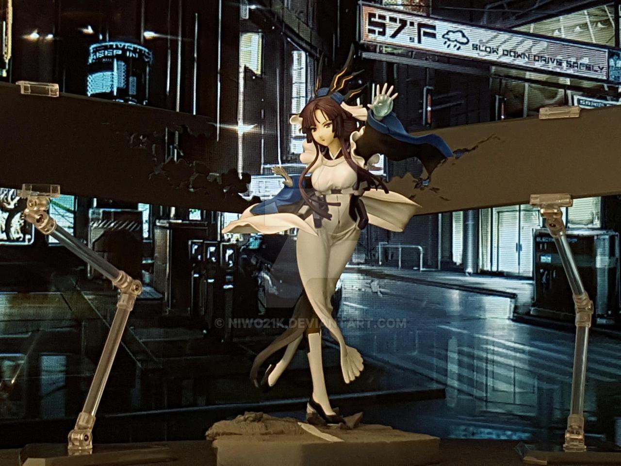 Kazuno attacks! by NiWo21k