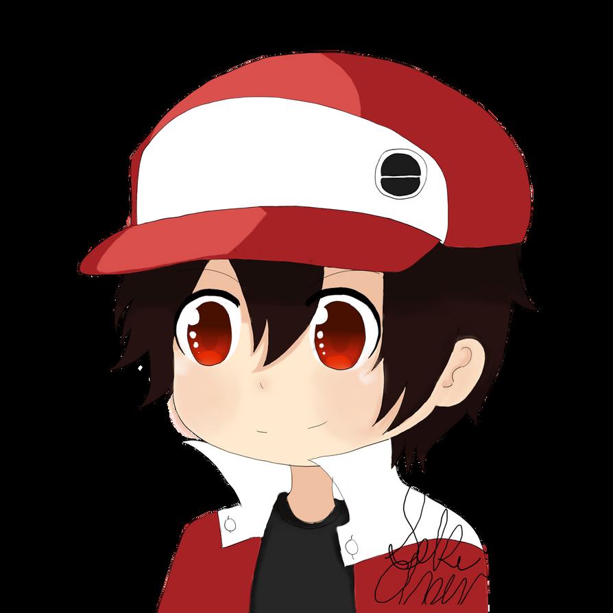 fanart pokemon trainer red chibi by hunterseker on deviantart