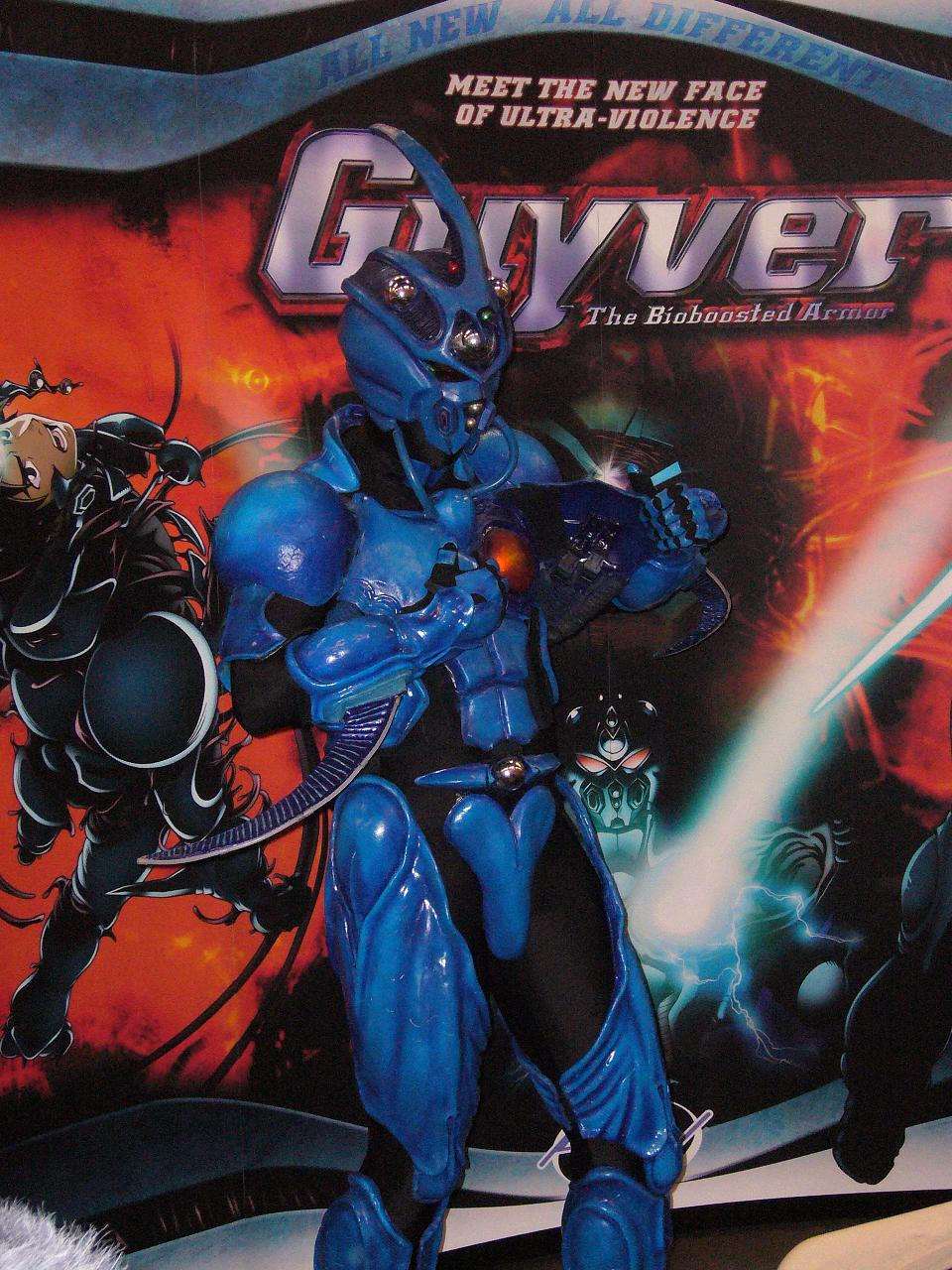 Guyver, the Bio Boosted Hero by Timzor