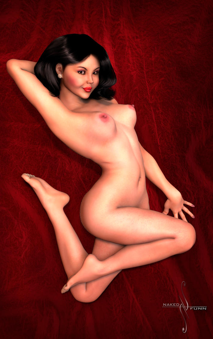 Sue Pin-Up by nakedfunn
