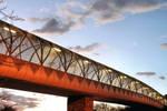 from under Diamondback bridge