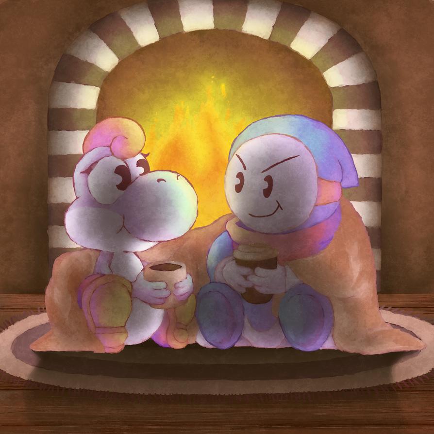 Fireplace by MuzYoshi