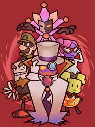 Super Paper Mario - Baddies