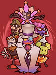 Super Paper Mario - Baddies