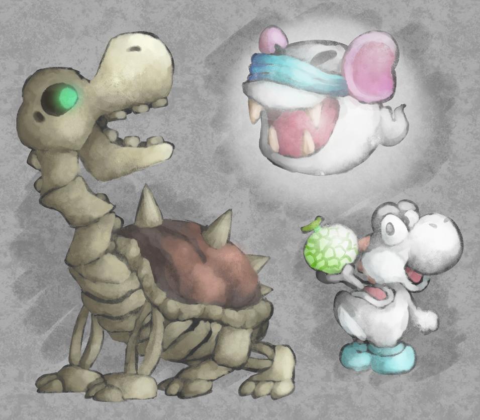 Yoshi's Story - Whites by MuzYoshi