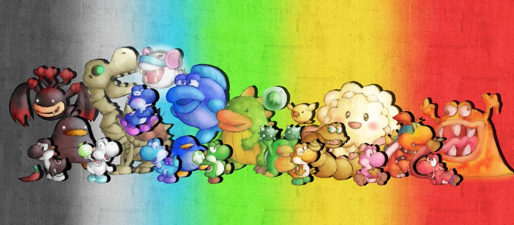 Yoshi's Story Clan by MuzYoshi