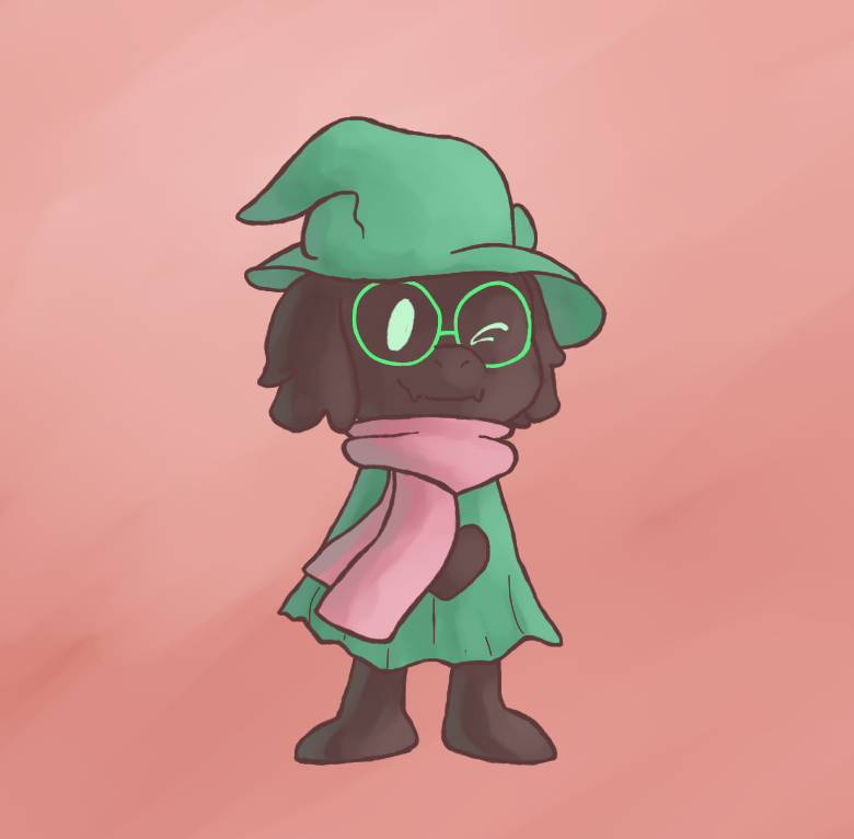 Ralsei Doodle Commission for AshEevee by MuzYoshi