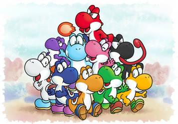 Yoshi Clan by MuzYoshi