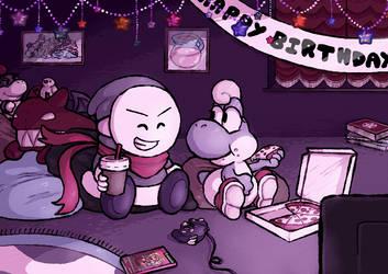 Solid's Birthday by MuzYoshi