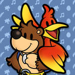 Paper Banjo and Kazooie
