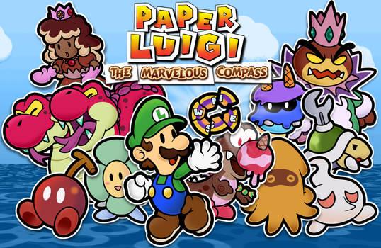 Paper Luigi: The Marvelous Compass